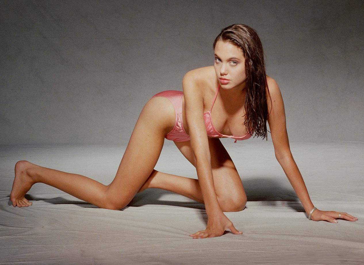 Angelina Jolie Hot And Sexy Pics 49 hottest angelina jolie bikini pictures are just too hot