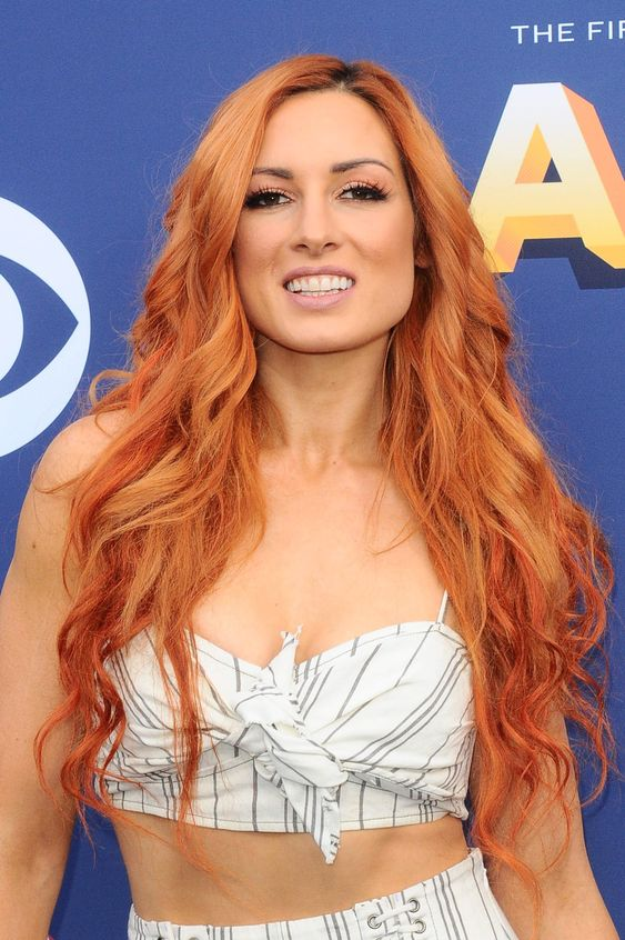 Becky Lynch Smile