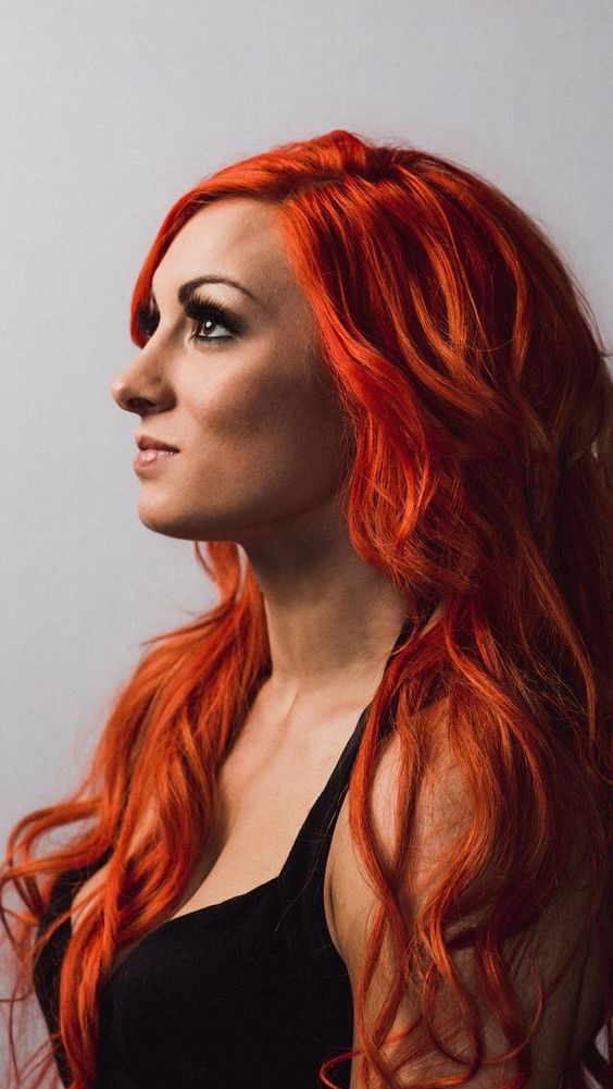 Becky Lynch on Photoshoot