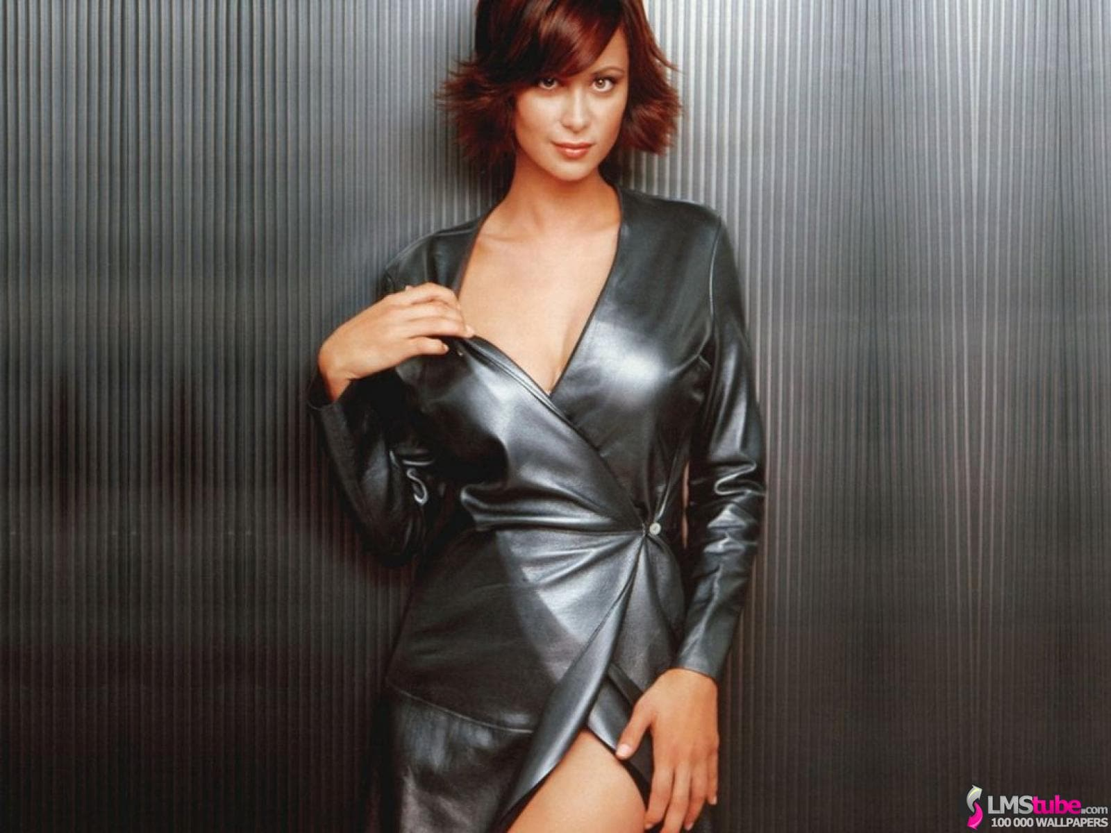 Catherine Bell Hot in Party wear Dress