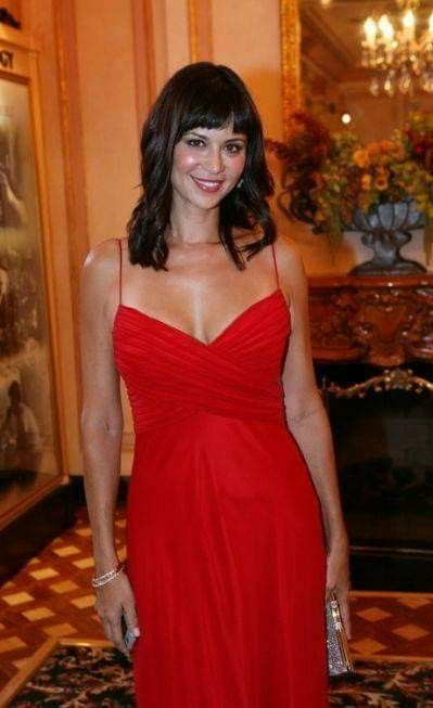Catherine Bell Hot in Red