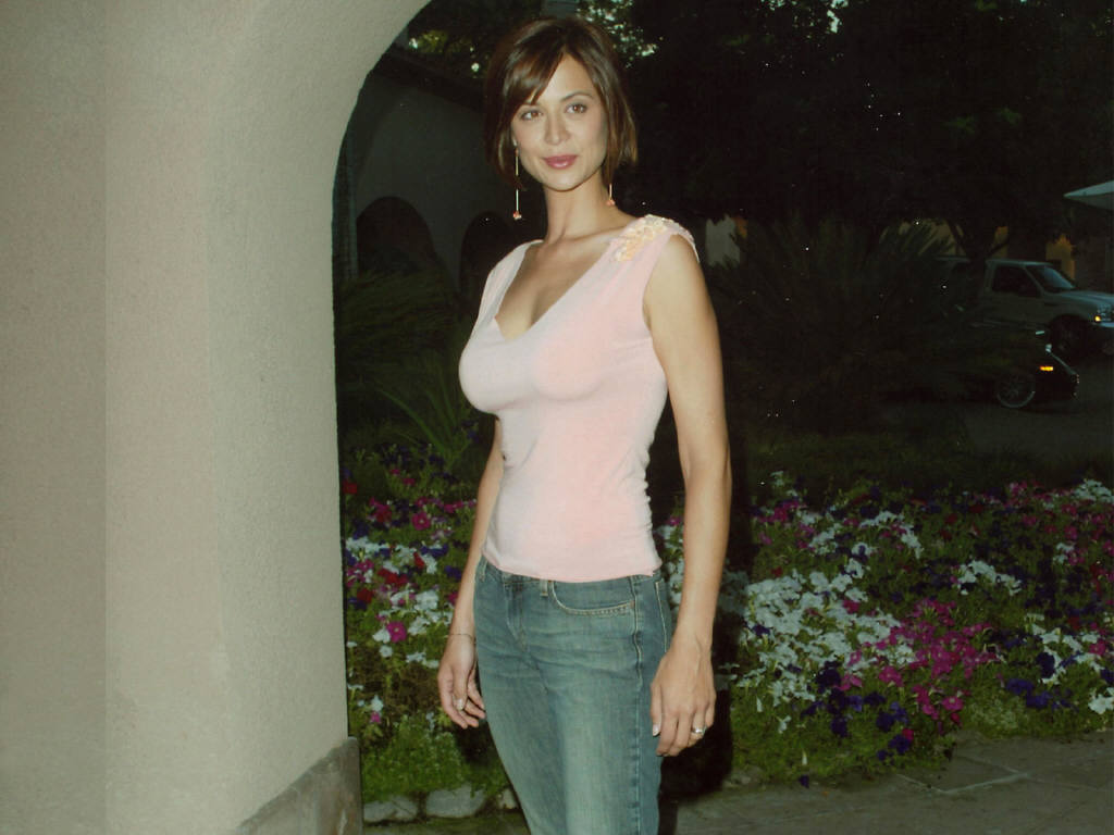 Catherine Bell on Photoshoot