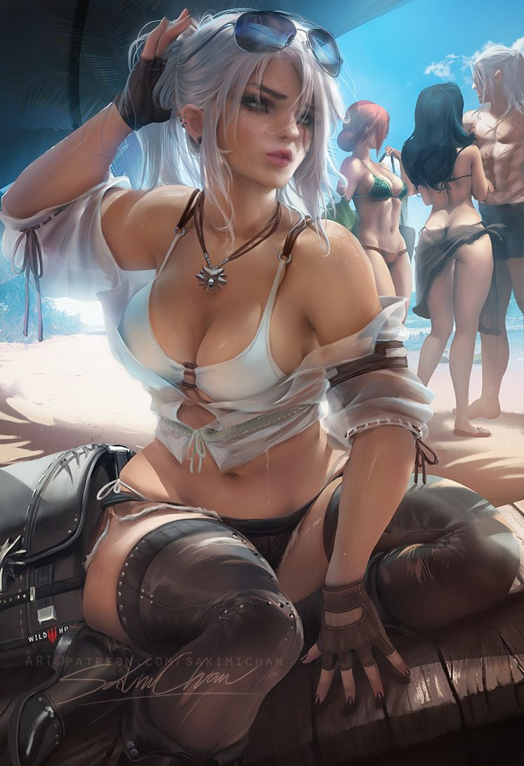 Ciri on Fan Art