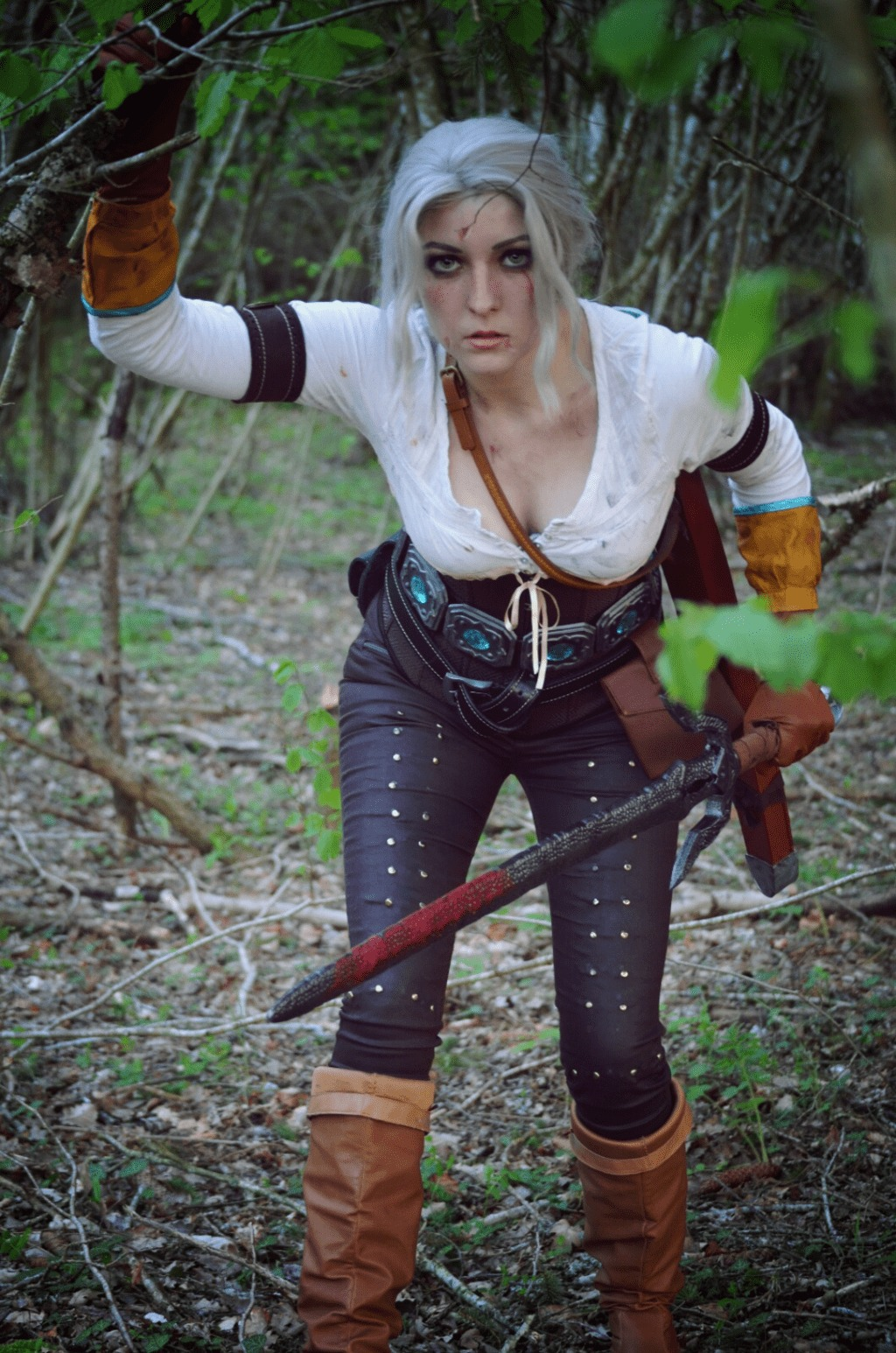 Ciri on Jungle