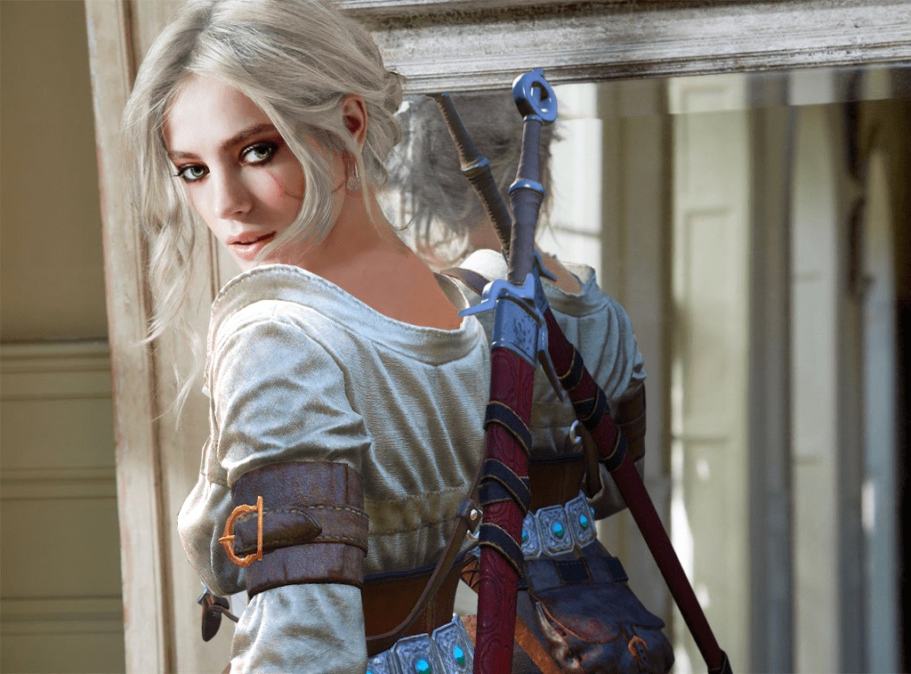Ciri on Photoshoot