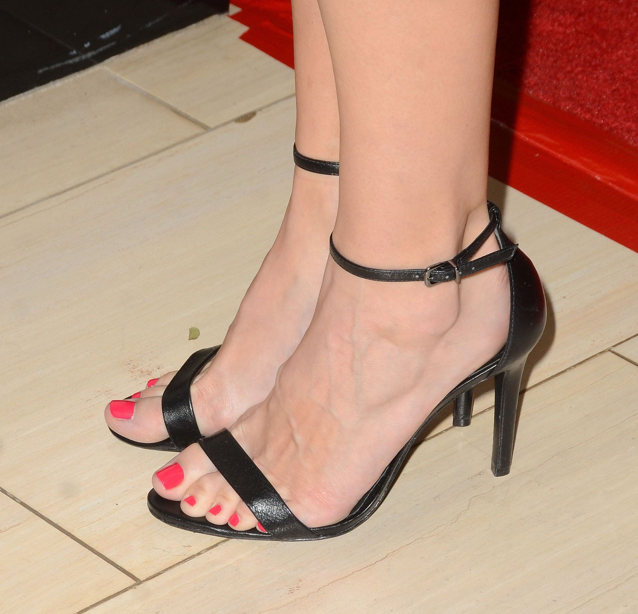 Danielle Panabaker hot toe nails
