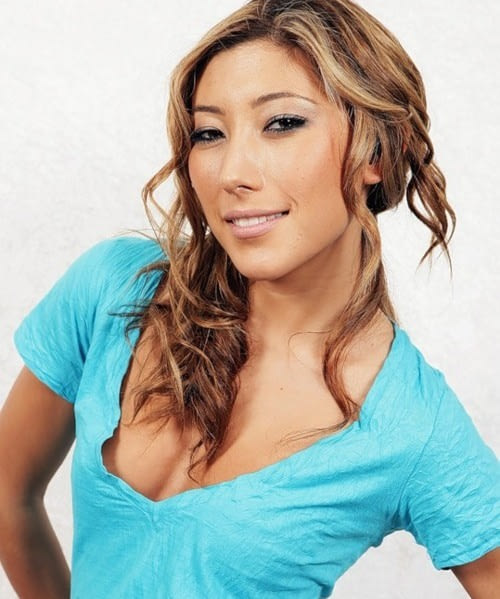 Dichen Lachman on Photoshoot