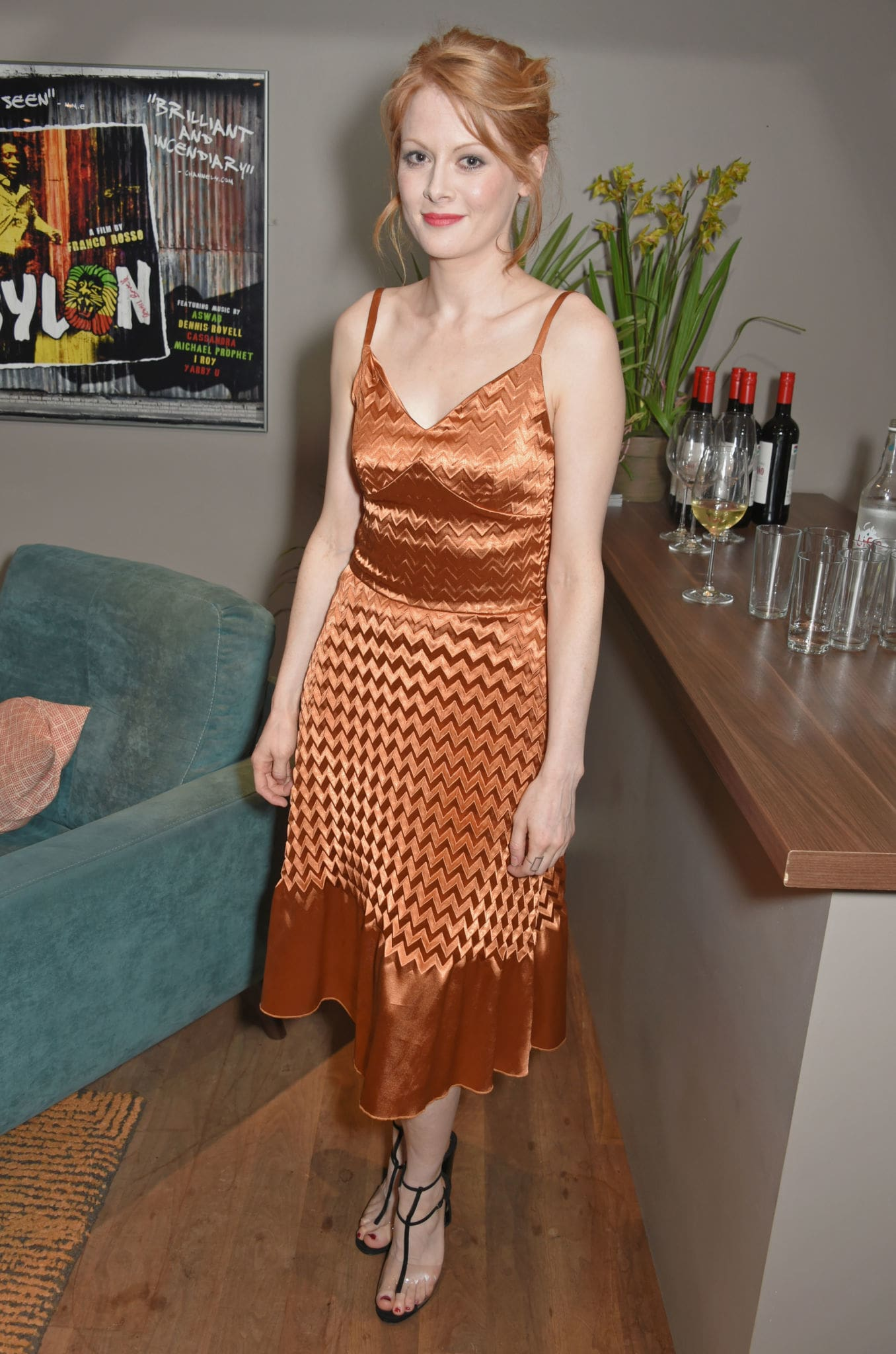 Emily Beecham Ready for Party