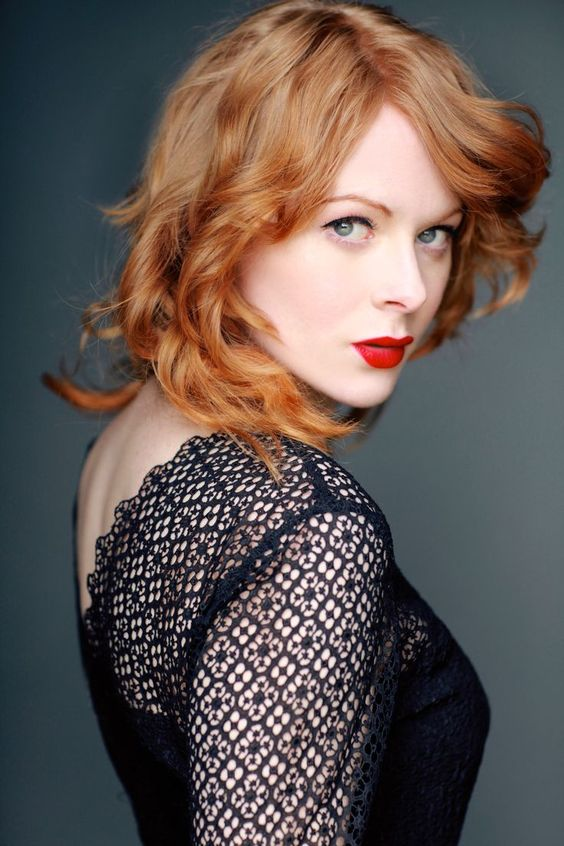Emily Beecham Red Lips
