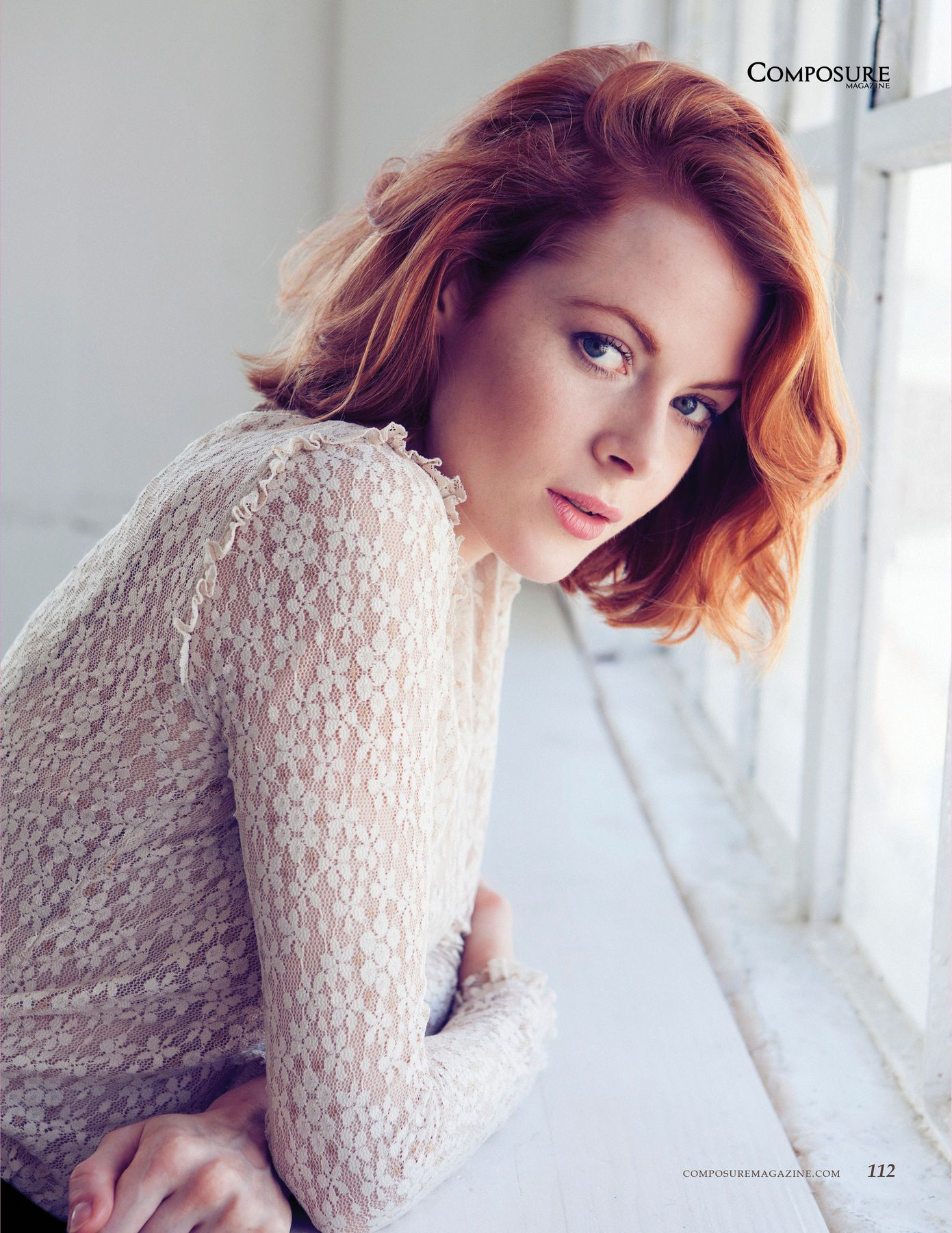 Emily Beecham on Photoshoot
