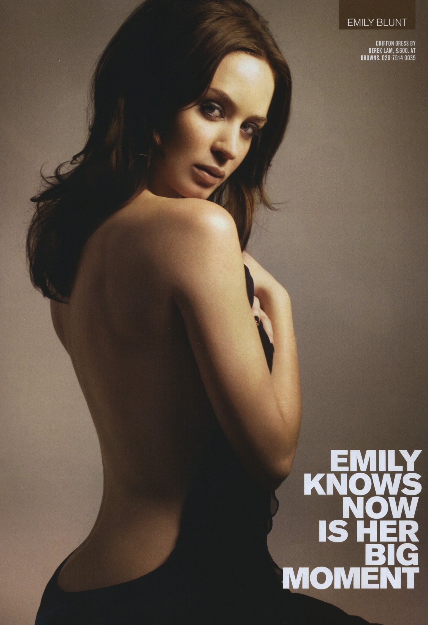 Emily Blunt Hot Photoshoot