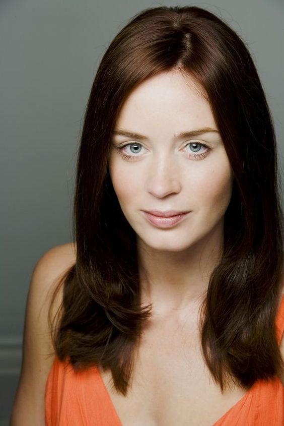 Emily Blunt Hot in Orange