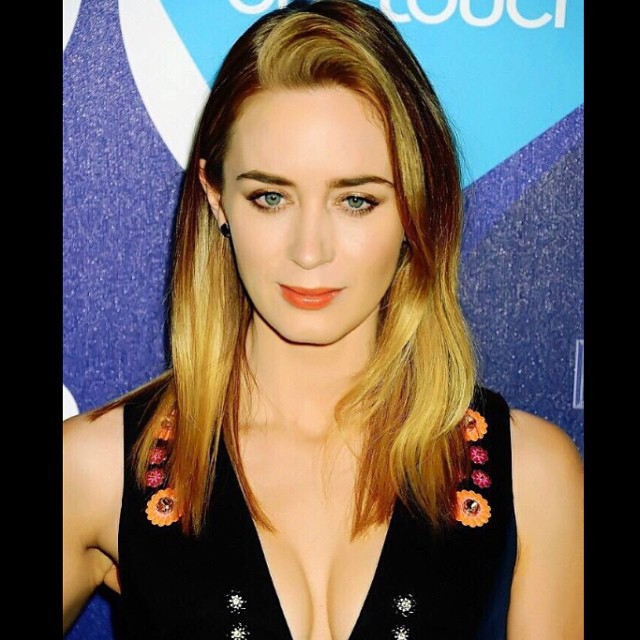Emily Blunt Sexy Lips