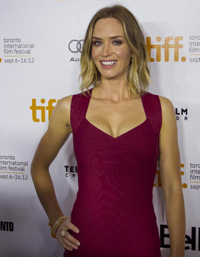 Emily Blunt on Tiff Awards