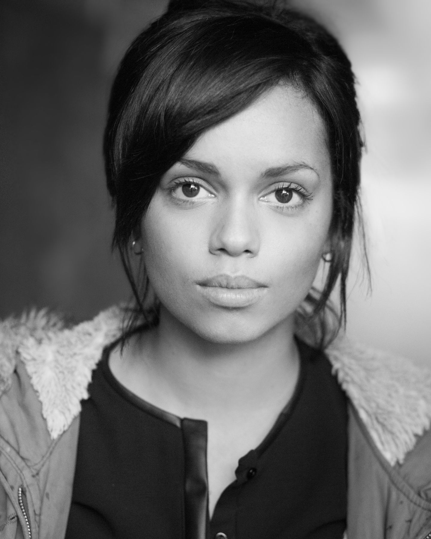 Georgina Campbell Hot in Black & White Photos