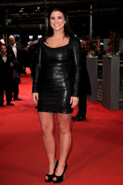 Gina Carano sexy hot in red carpet