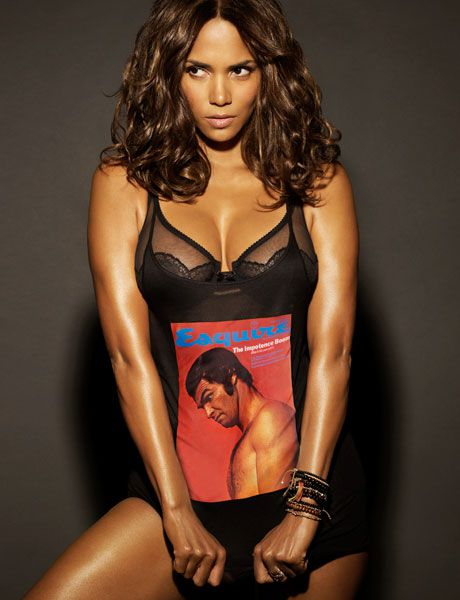 Halle Berry cleavages awesome