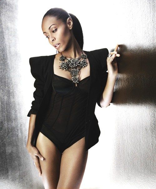 Jada Pinkett Smith Hot in Black