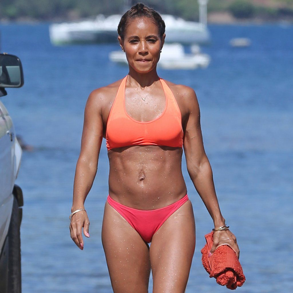 Jada Pinkett Smith Hot on Lingerie