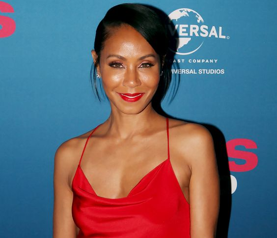 Jada Pinkett Smith Red Lips