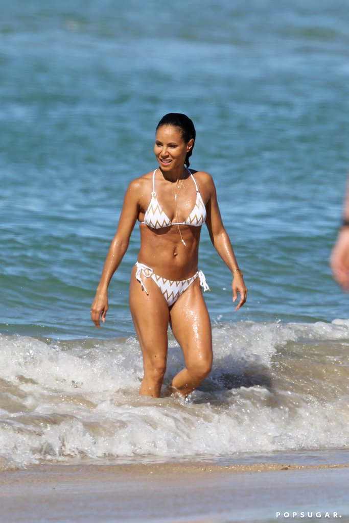 Jada Pinkett Smith on Beach