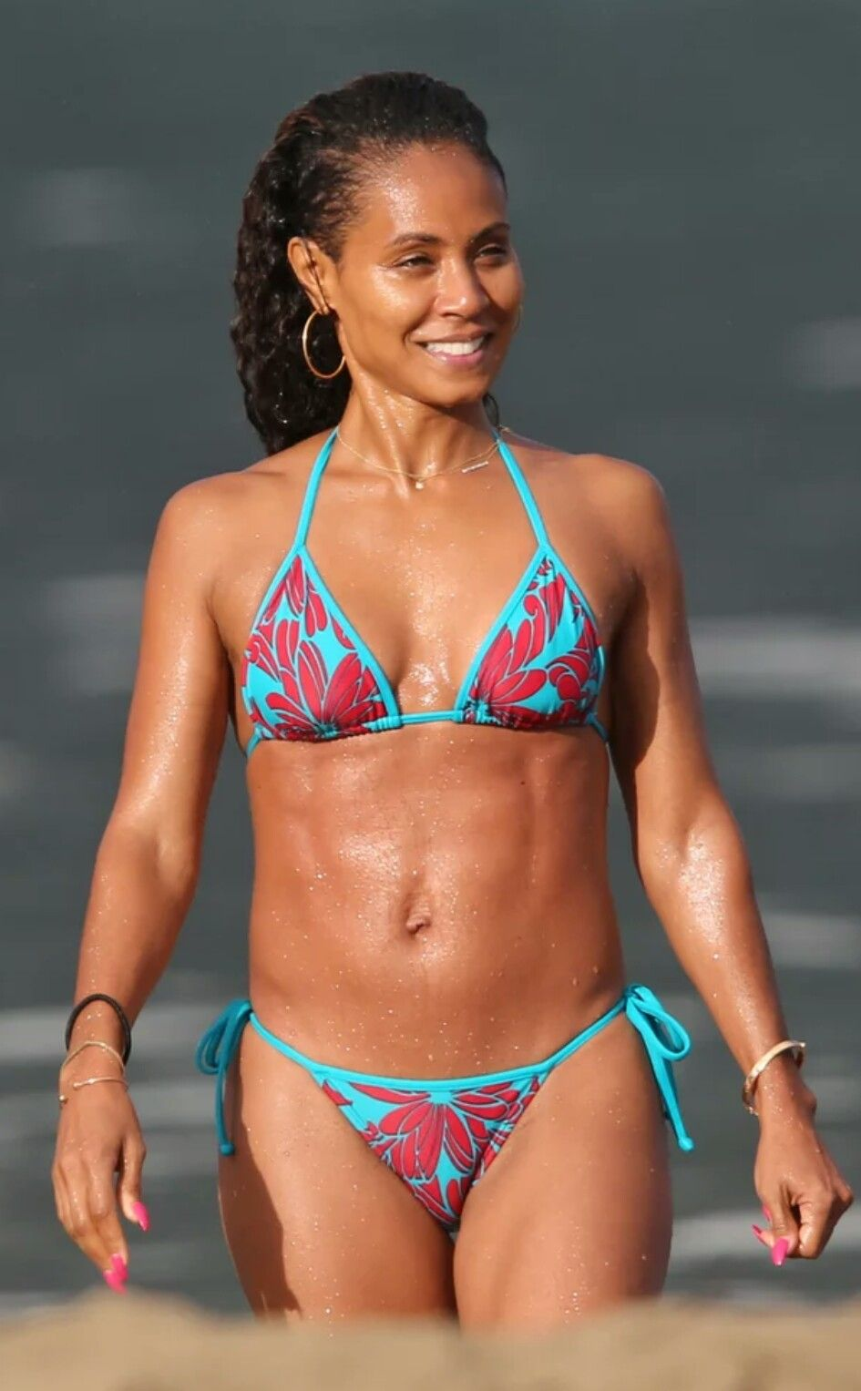 Jada Pinkett Smith on Check Bikini