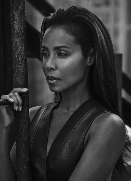 Jada Pinkett Smith on Photoshoot