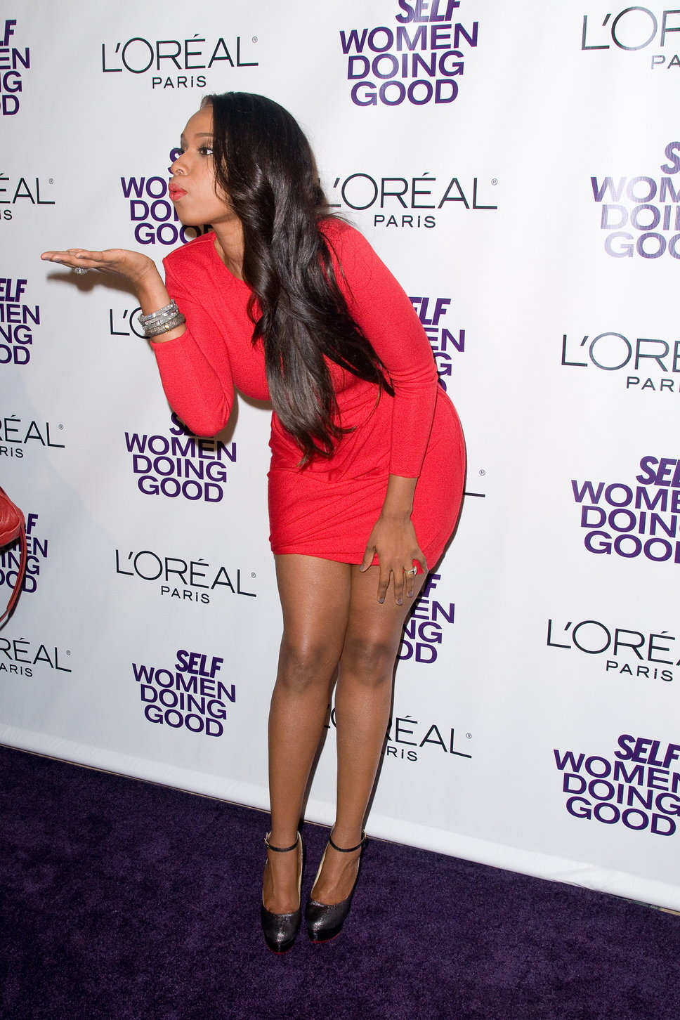 Jennifer Hudson on Loreal Paris