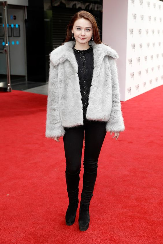 Jessica Barden on Red Carpet