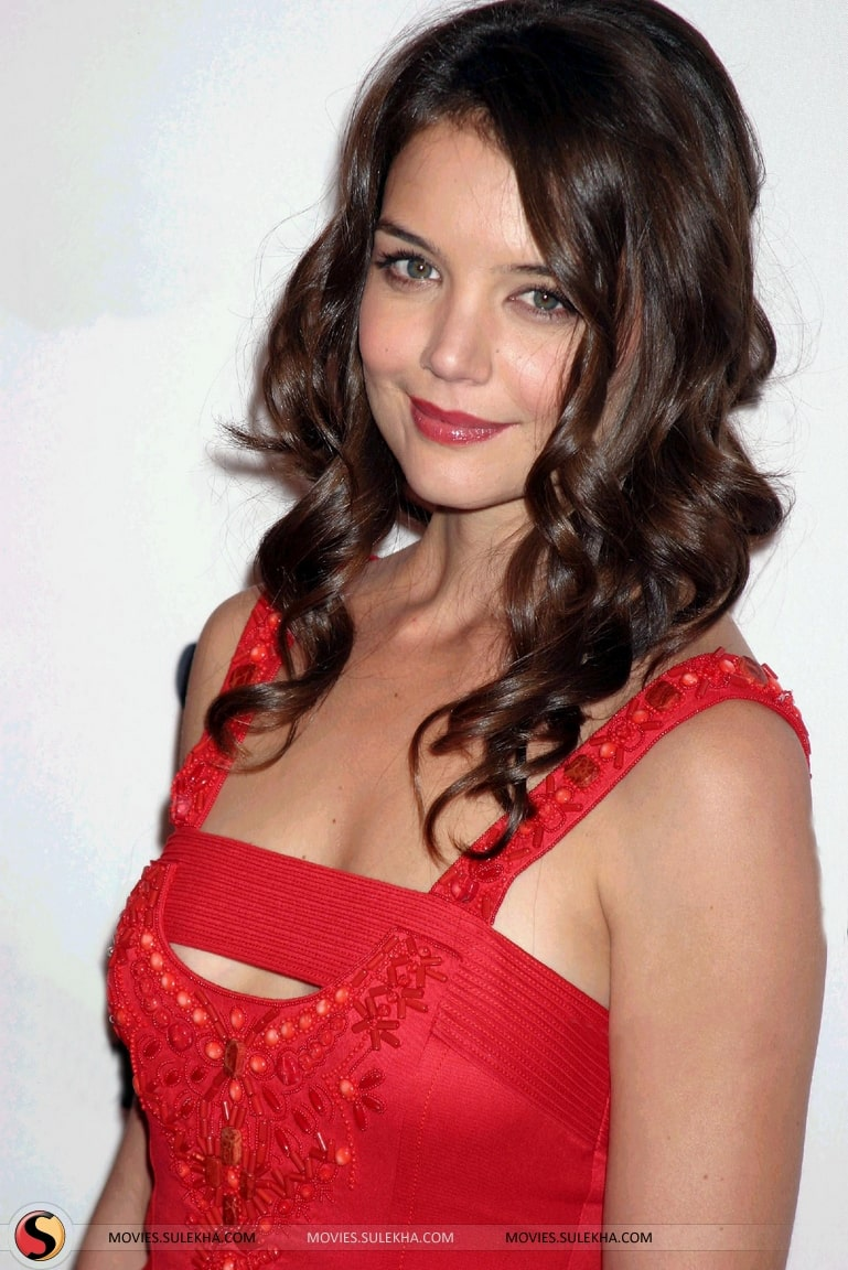 Katie Holmes Hot in Red