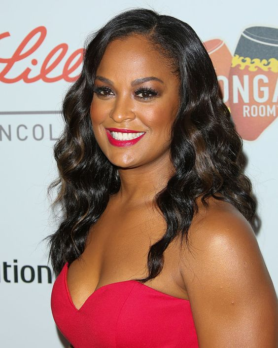 Laila Ali Hot in Red