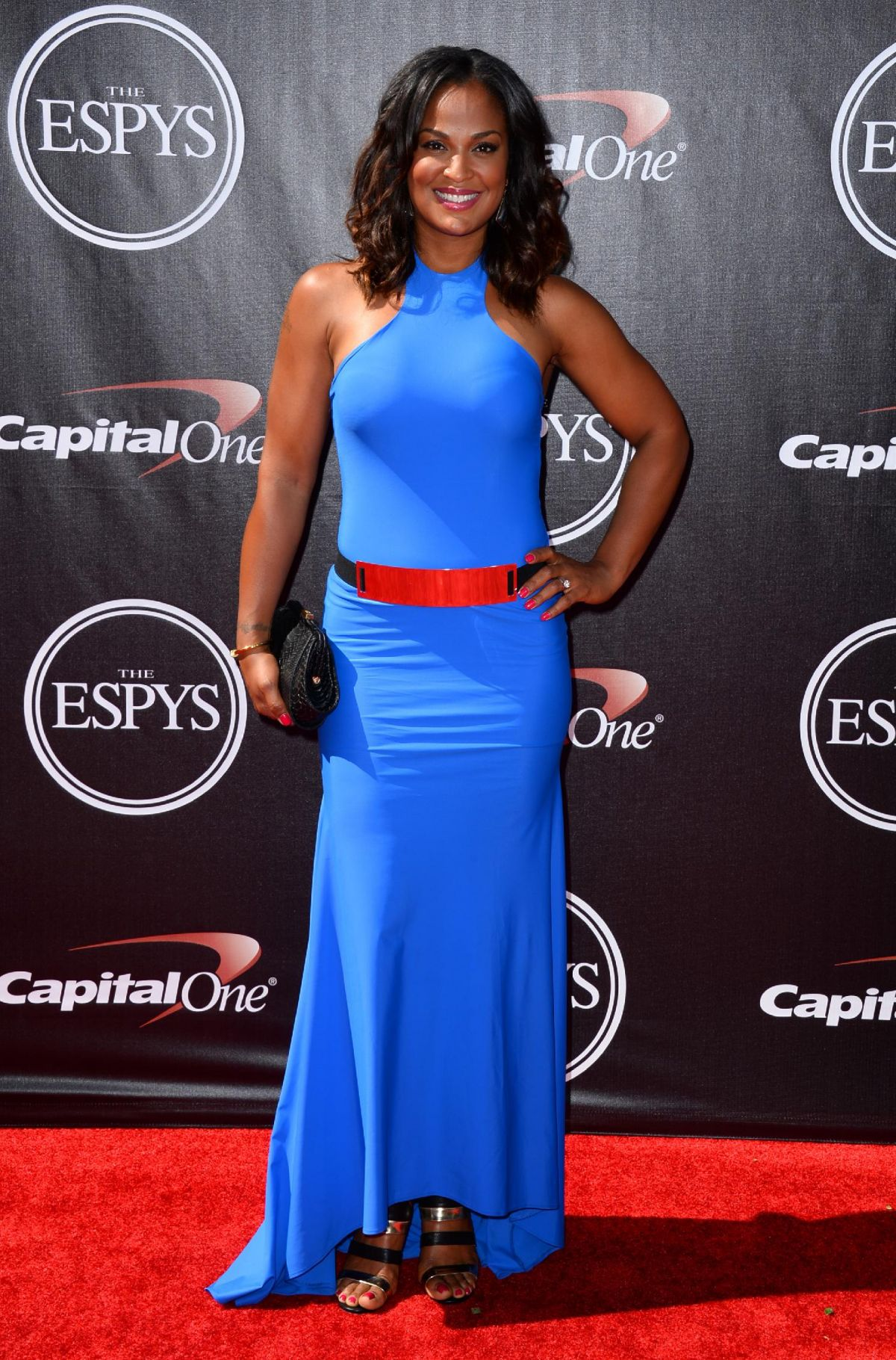 Laila Ali on Red Carpet