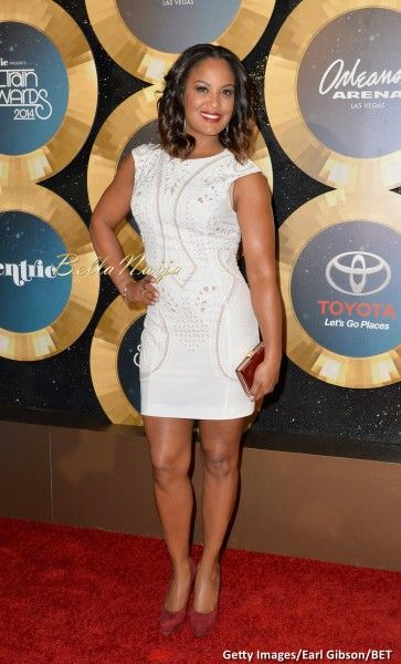 Laila Ali on Toyata Awards