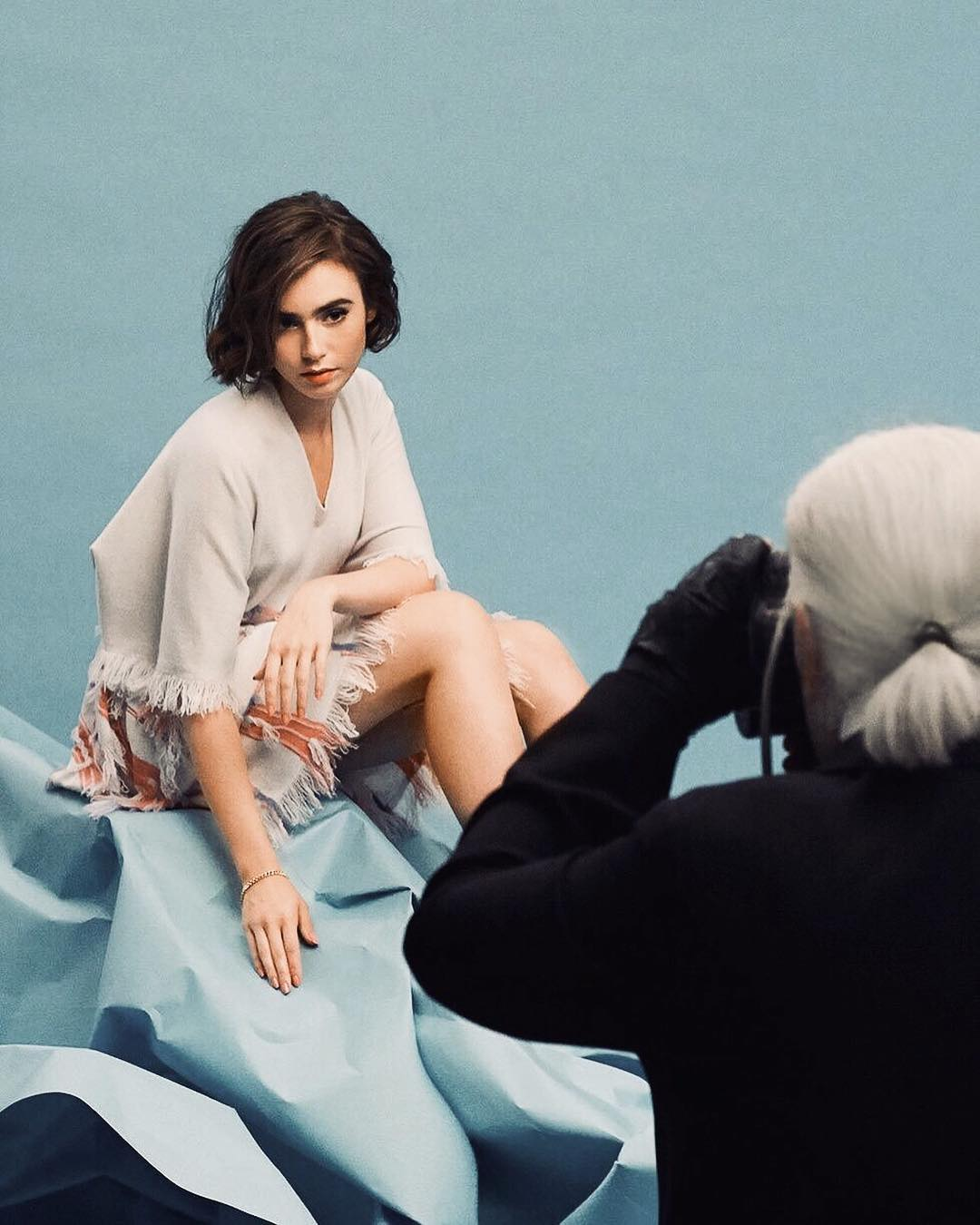 Lily Collins beautiful pics