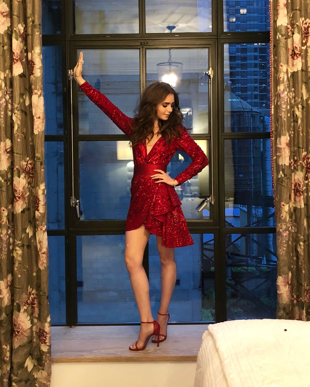 Lily Collins hot pictures