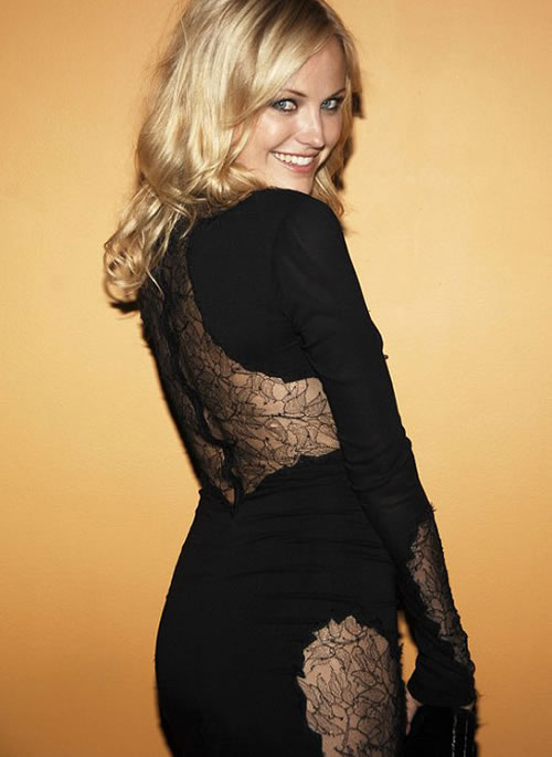 Malin Åkerman Hot in Black