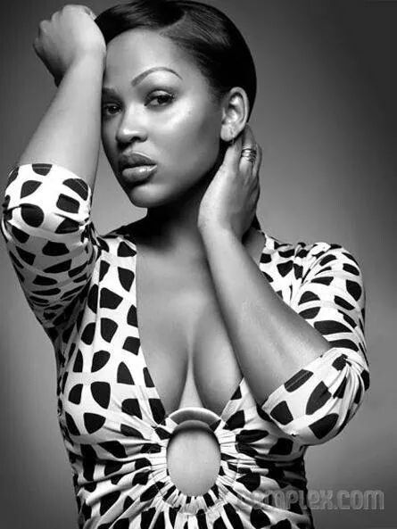 Meagan Good hot cleavages pic