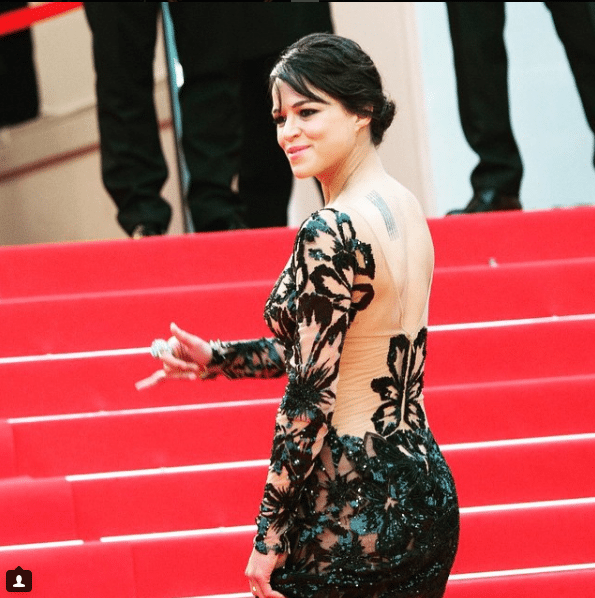 Michelle-Rodriguez-Sexy-Dress-