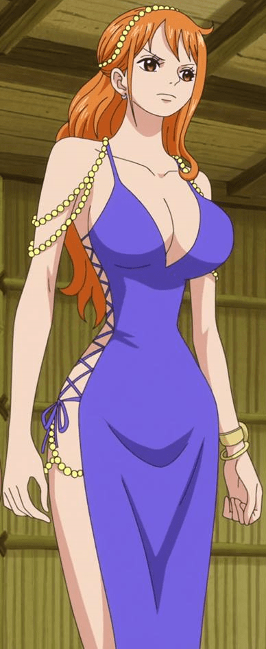 Nami blue dress awesome