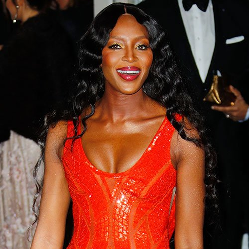 Naomi Campbell on Party