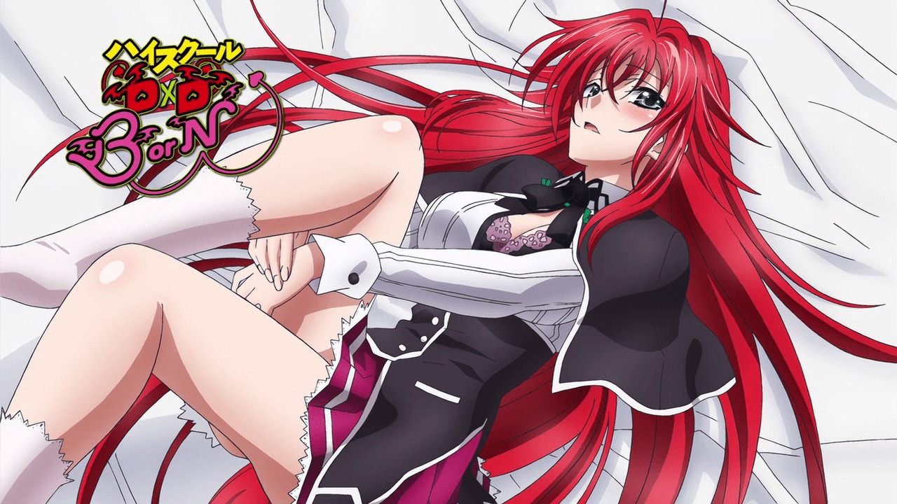 Rias Gremory emotional