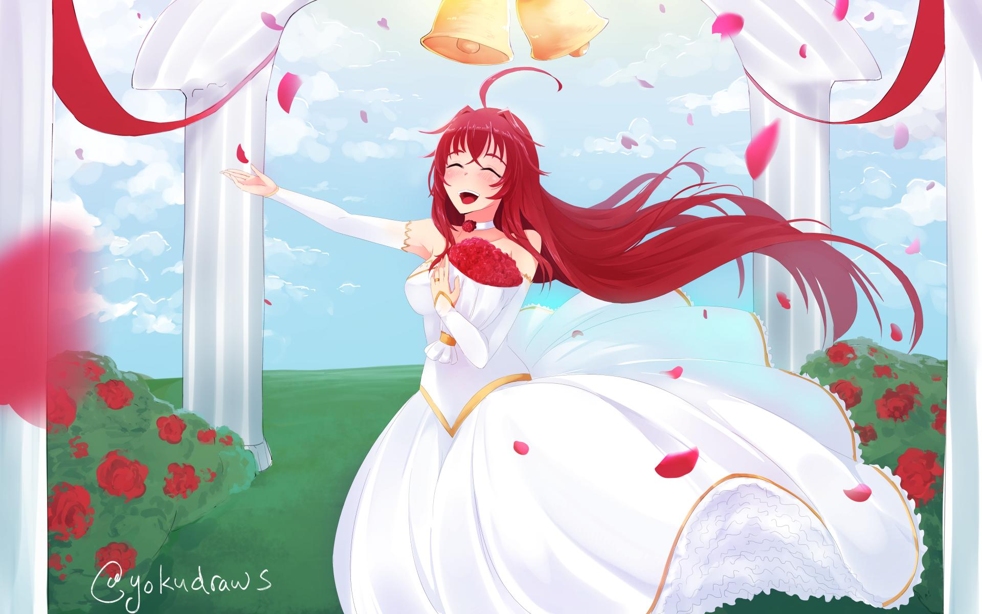 Rias Gremory like bride