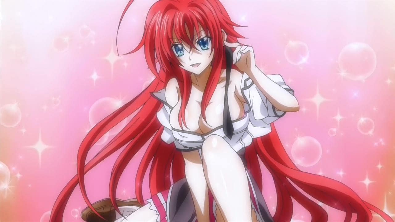 Rias Gremory very hot photo