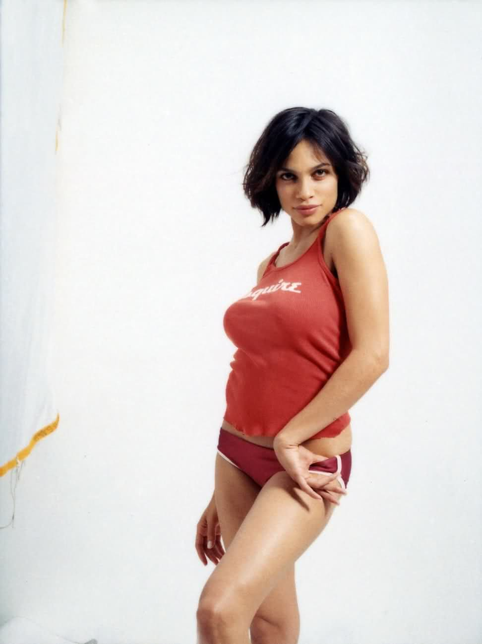 Rosario-Dawson-Sexy-in-Orange-
