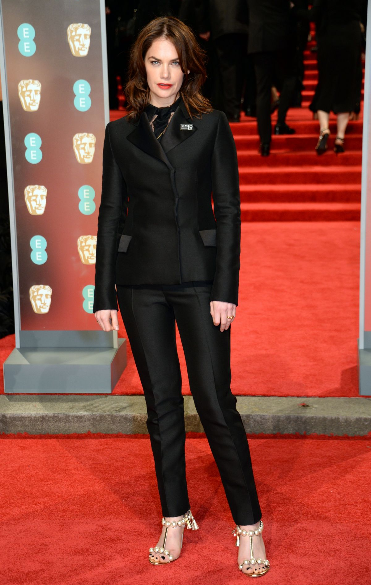 Ruth Wilson in sexy red carpet