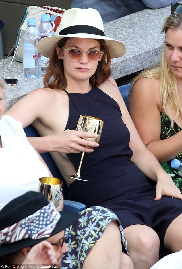 Ruth Wilson sexy with alcohol