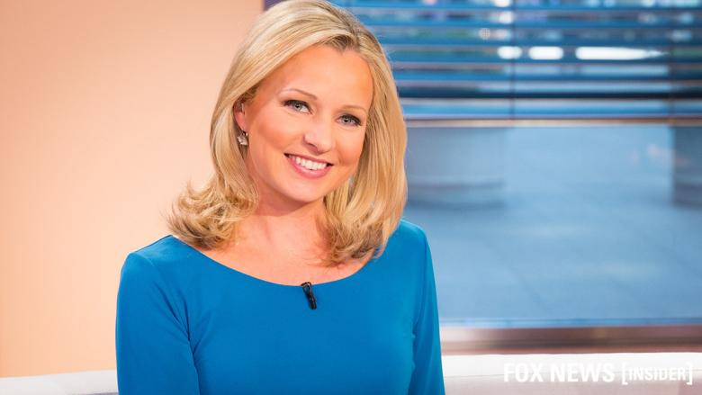 Sandra Smith beauty in blue