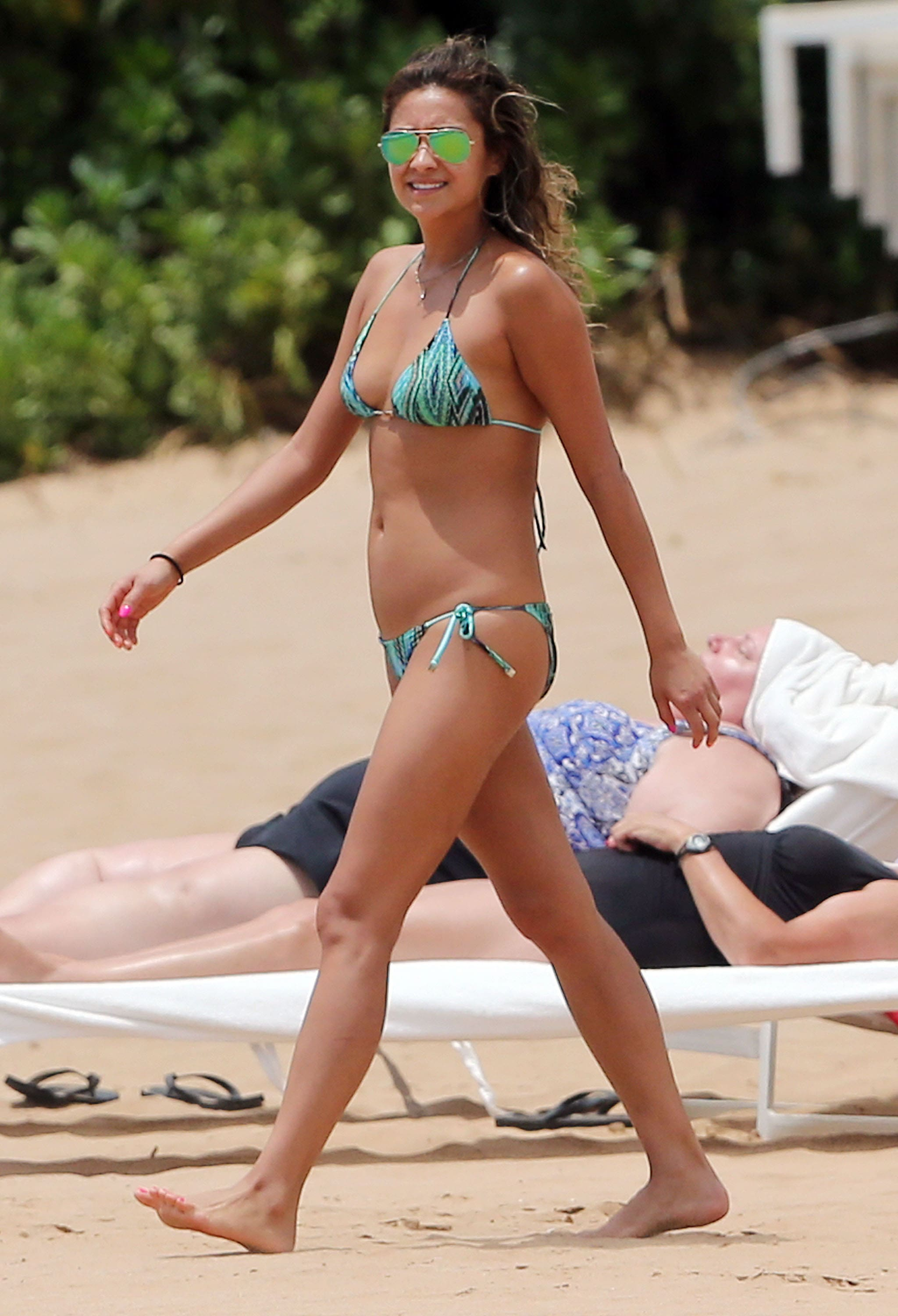 Shay Mitchell on Beach