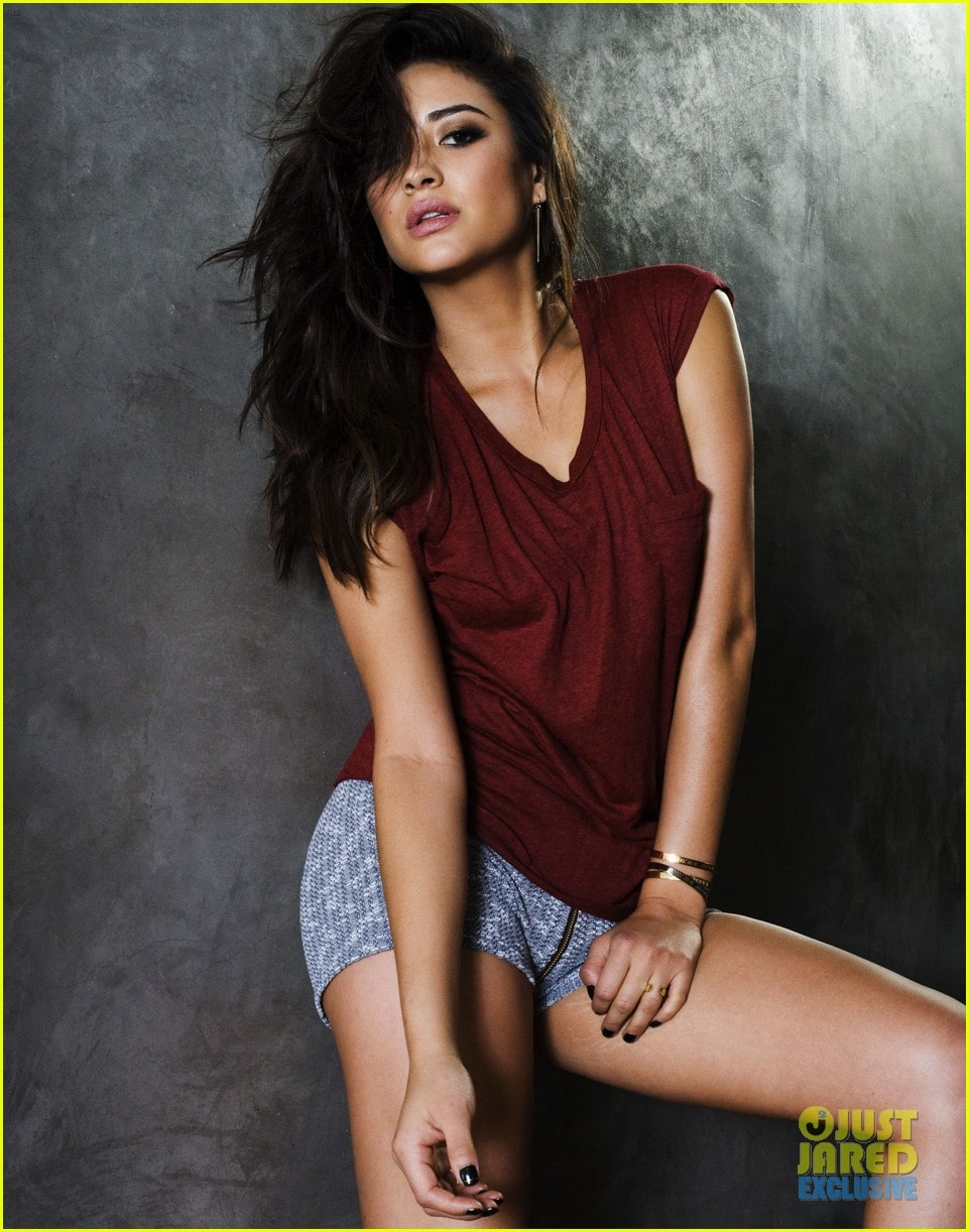 Shay Mitchell on Photoshoot