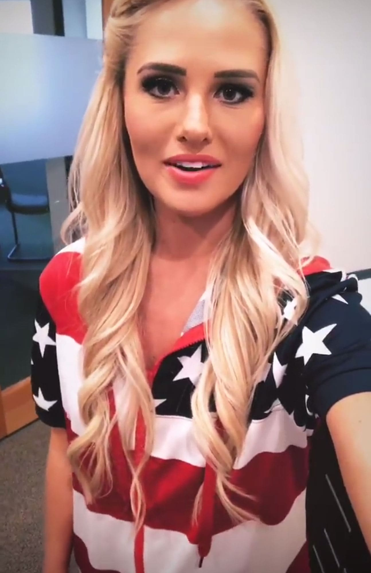 Tomi Lahren on Photoshoot